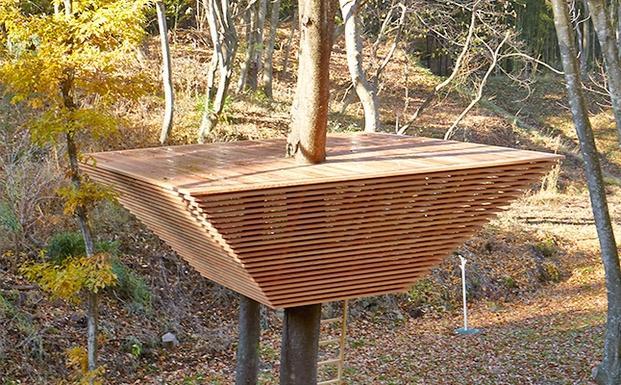 Treehouse project: diseño y arquitectura, en el bosque de japón ...