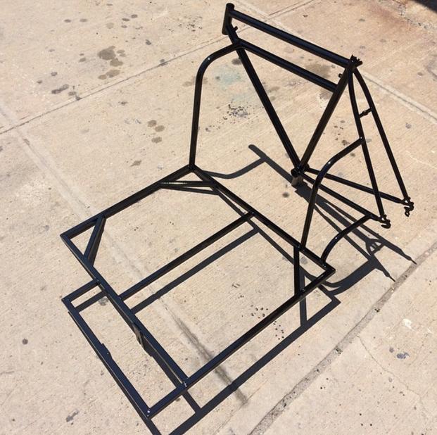 6 side car bicycle