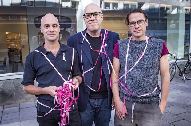 7 rosa bandet