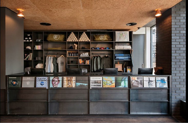 Ace Hotel London Shoreditch Lobby Desk diariodesign