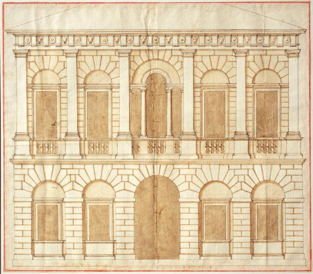 Design-for-a palace-by-Andrea-Palladio-(c.1540s)-(c)-RIBA-Collections