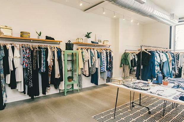 interior Concrete + Water la tienda más hipster de NYC