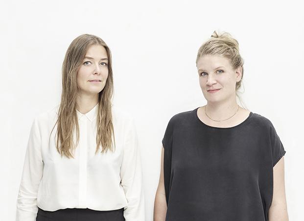 (L) Veronica Dagnert & Helena Jonasson. Shot in London 03/08/15.