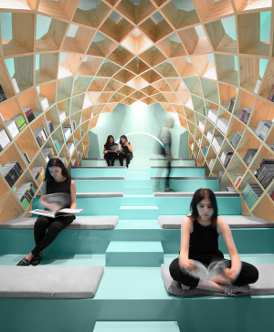 biblioteca en mexico monterrey anagrama en diariodesign