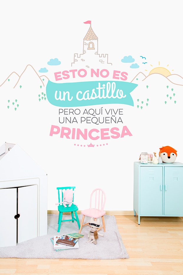 mr wonderful papeles pintados para tres tintas diariodesign princesa