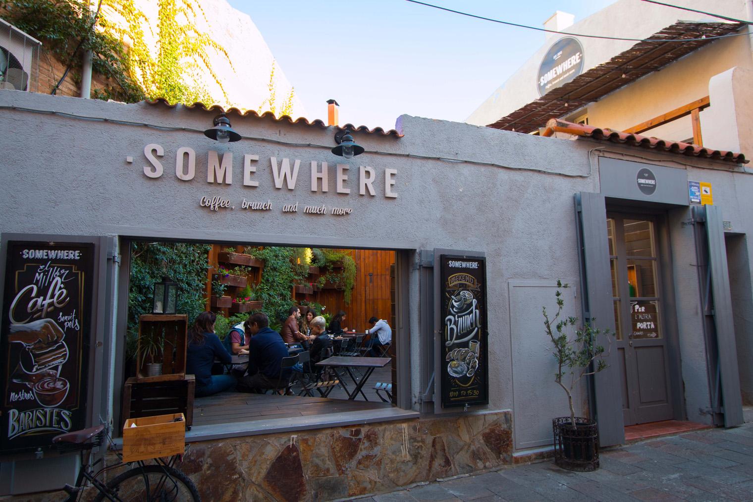 Somewhere caf brunch y mucho m s en sant cugat del - Mas duran sant quirze del valles ...