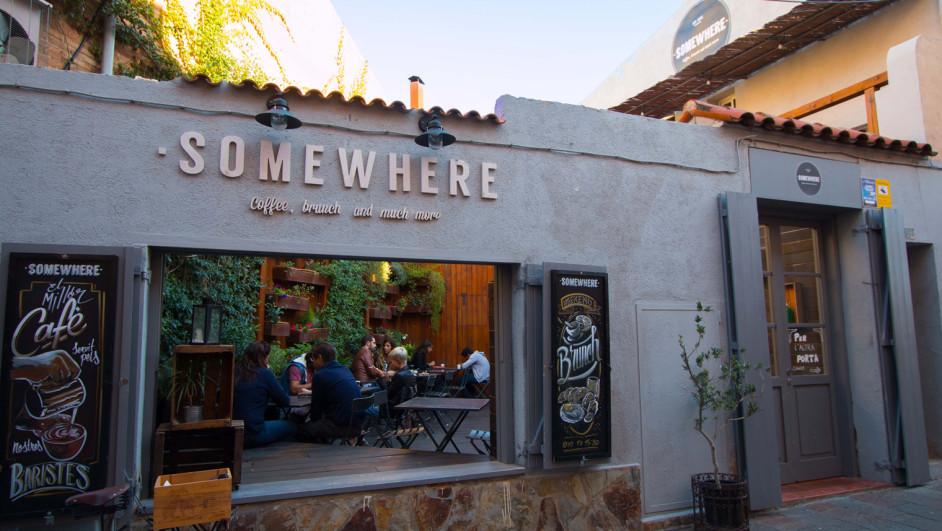1 somewhere café