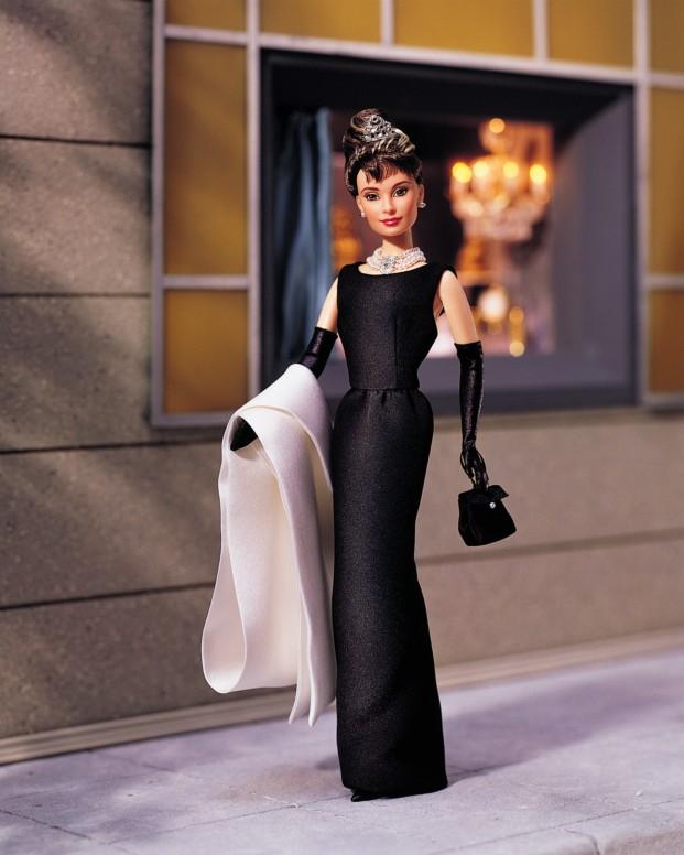 Barbie como Audrey Hepburn