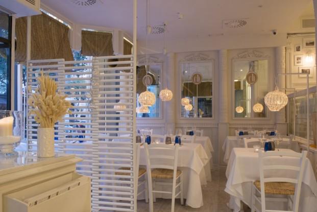 restaurante italiano la casa bianca en Barcelona