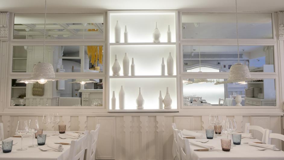 restaurante La Casa Bianca en Barcelona