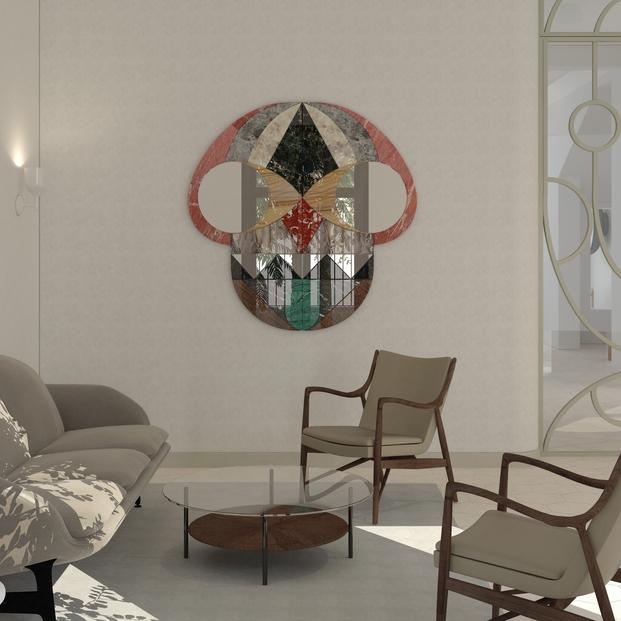 Unique design piece for Design Museum Holon (rendering), credit - Hayonstudio