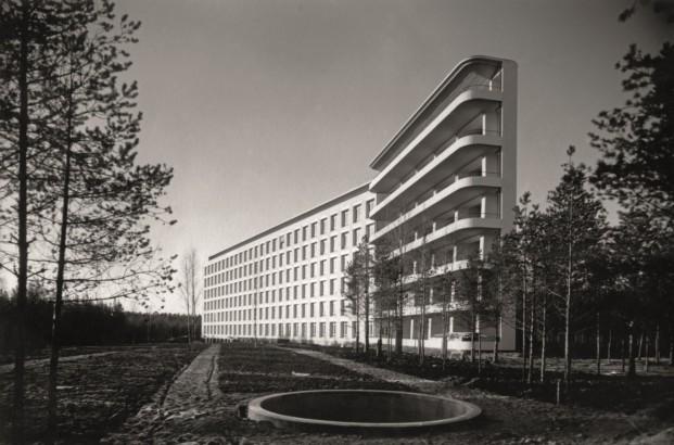 Sanatorio para tuberculosos en Paimio, Finlandia (1928-1933)