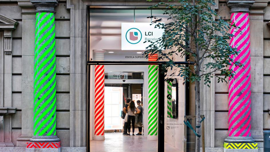 Visitamos la escuela de dise o lci en su nueva sede for Diseno de interiores barcelona universidad