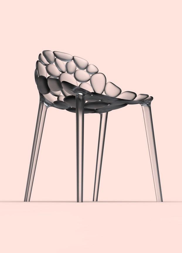 11 Chaise CLOUD-IO par Eugeni Quitllet avec Kartell 2