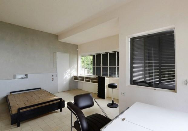 habitacion principal e 1027 casa de Eileen Gray diariodesign