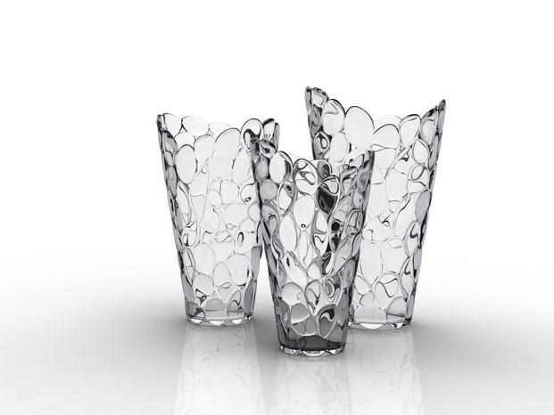 12 VASE ô, cristal by Eugeni Quitllet with Kartell 2
