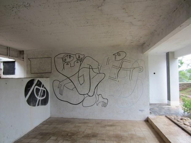 mural de Le Corbusier en E.1027