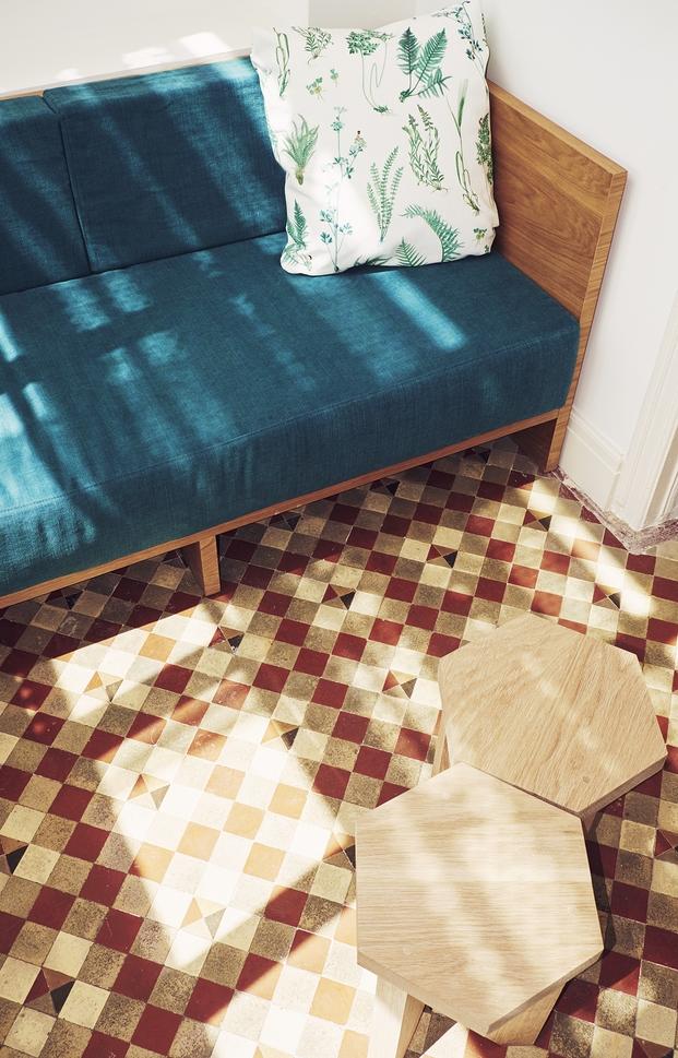 suelo nolla en hotel casa bonay barcelona