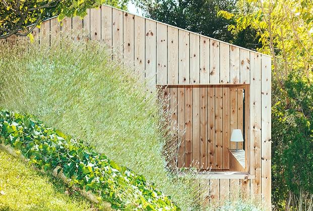 Casita de madera de Dom Arquitectura diariodesign