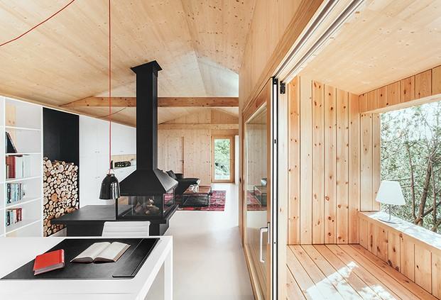 casa de madera en el pirineo dom arquitectura diariodesign