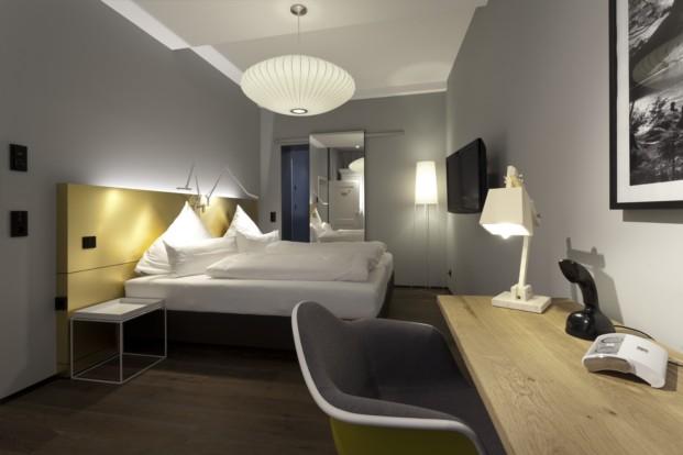Hotel Scholll, con interior de Alexander Seifried e interruptores A Creation