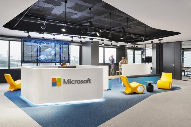 La ciudad del 2015 en las oficinas de microsoft barcelona for Oficina king barcelona