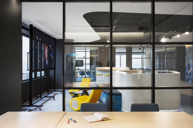 La ciudad del 2015 en las oficinas de microsoft barcelona for Oficina de empleo barcelona