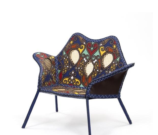 1 Cangaço armchair by Fernando e Humberto Campana 2015 at Firma Casa courtesy of Campan Studio Fernando Laszlo (1)