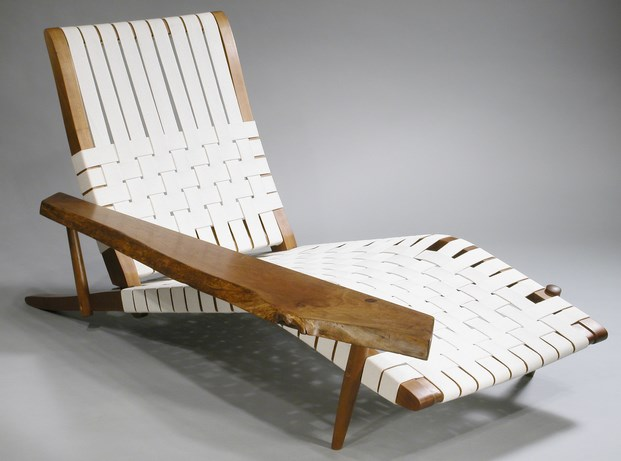10 Long Chair by George Nakashima at Moderne Gallery