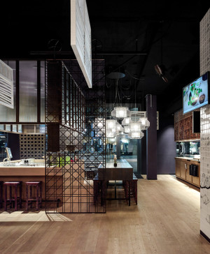 GinYuu Stuttgart - Restaurant design by Ippolito Fleitz Group