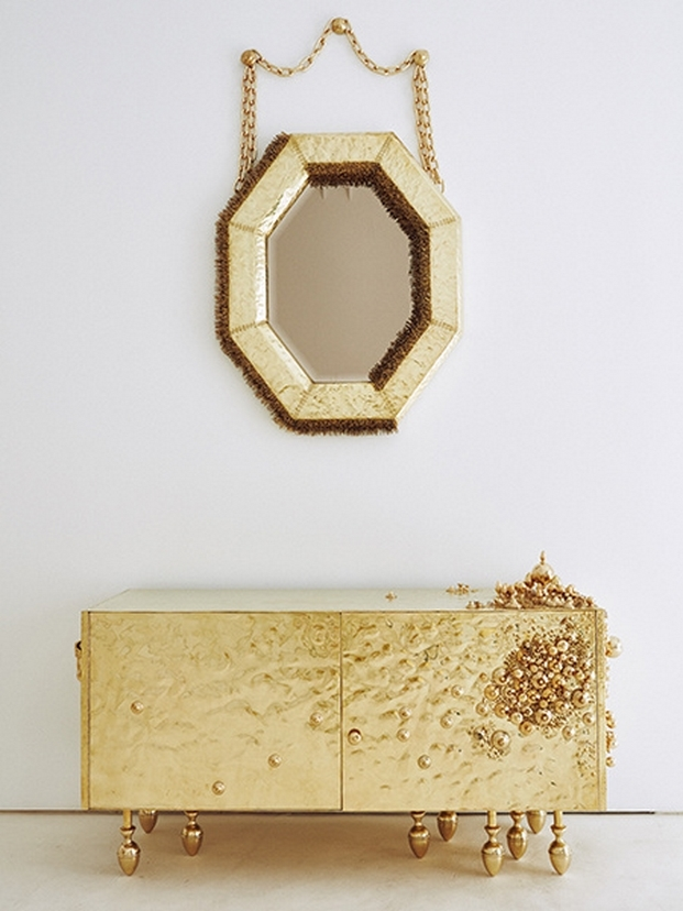 Von Pelt, espejo y mueble
