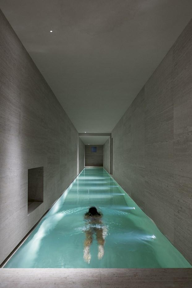piscina casa montalcino en la toscana italiana diariodesign