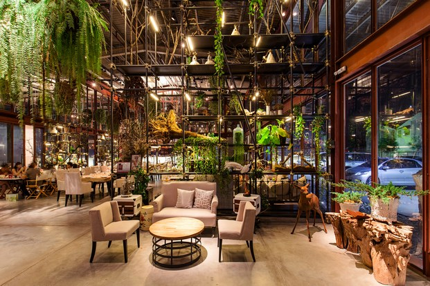 Restaurante en Bangkok