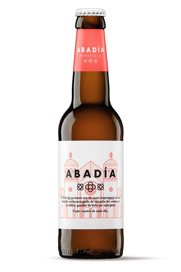 La cerveza artesana Abadía Española cambia de imagen Pale Ale diariodesign