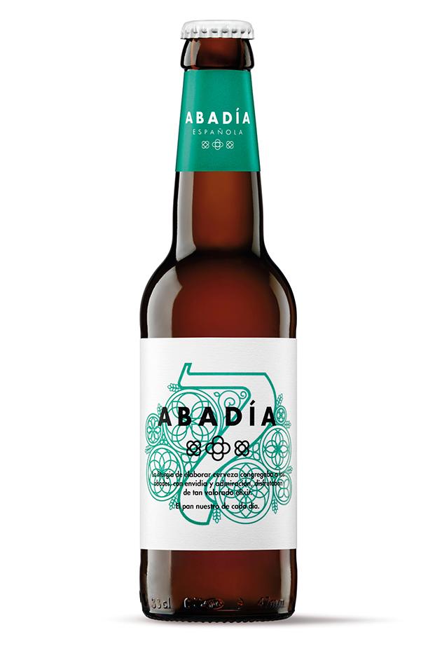 La cerveza artesana Abadía Española cambia de imagen diariodesign