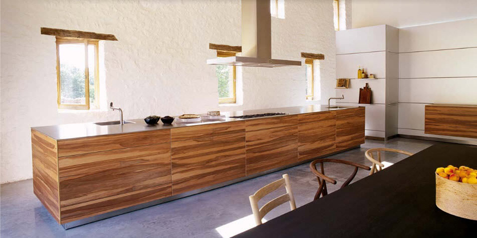 Madera artesana en las cocinas bulthaup - diariodesign.com