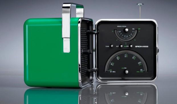 Radio Cubo para Brionvega