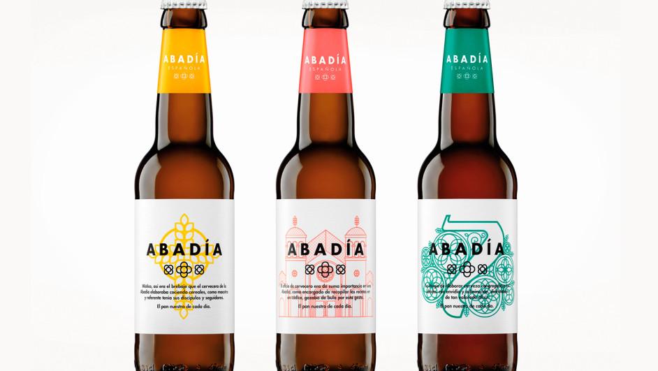 abadia espanola cerveza artesana cambia de imagen diariodesign