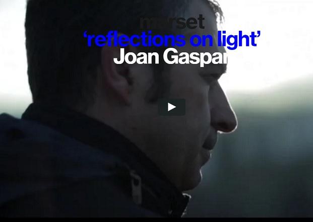 reflections of light joan gaspar video