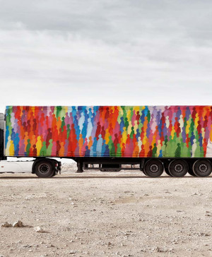 1 truck art project