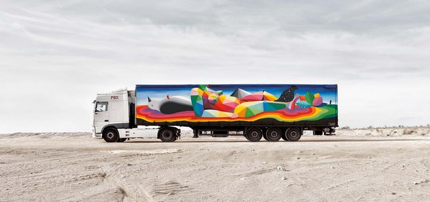 11 truck art project okuda