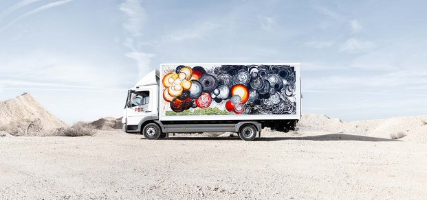 14 truck art project Abraham