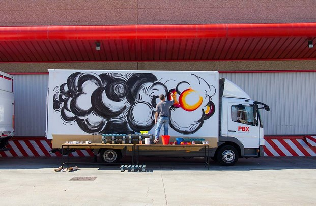 15 truck art project abraham lacalle