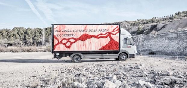 16 truck art project marina vargas