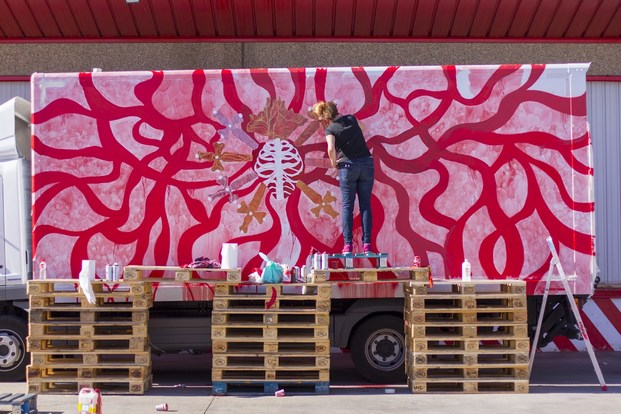 18 truck art project marina vargas