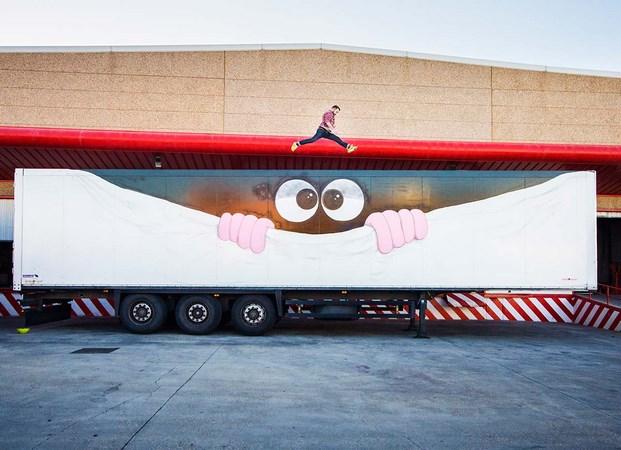 19 truck art project Javier Calleja