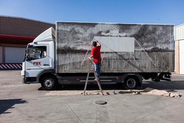 22 truck art project san