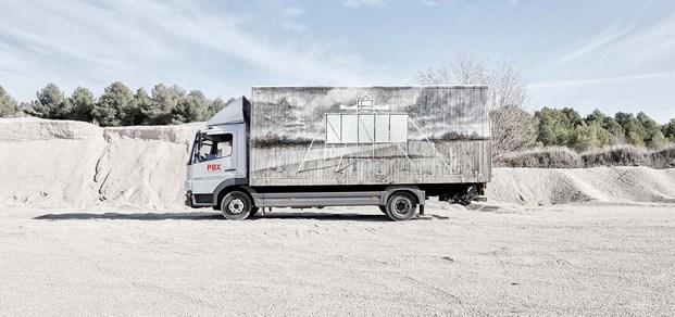 24 truck art project san