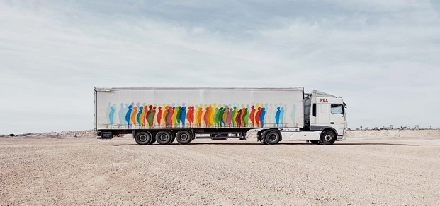 8 truck art project suso33