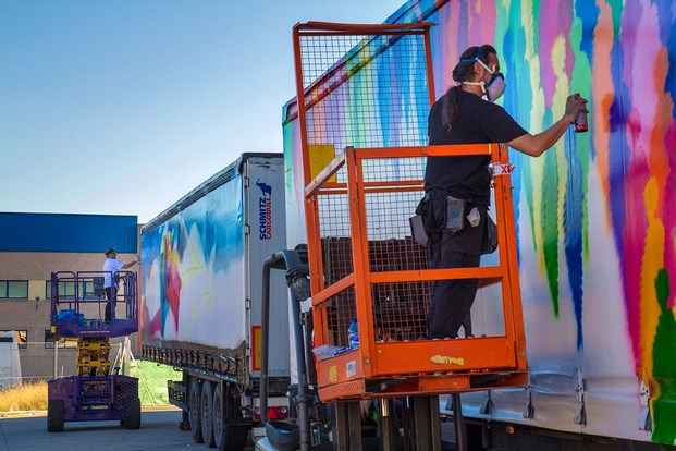 9 truck art project suso33